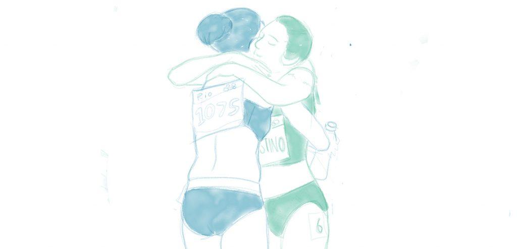 """เรื่องชูใจในโอลิมปิก ตอน """"สองคนย่อมดีกว่าคนเดียว"""""""
