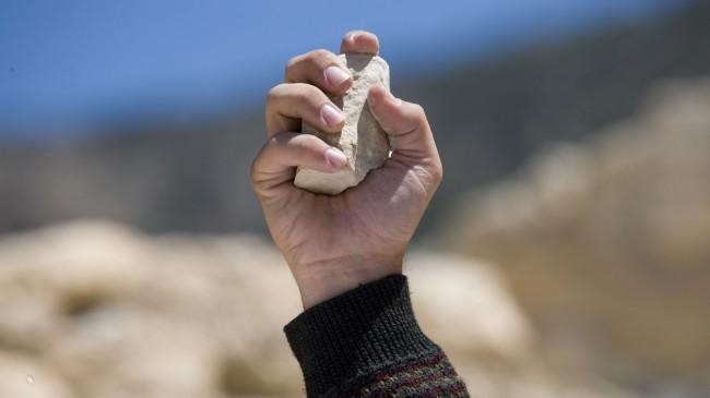 การปาหิน