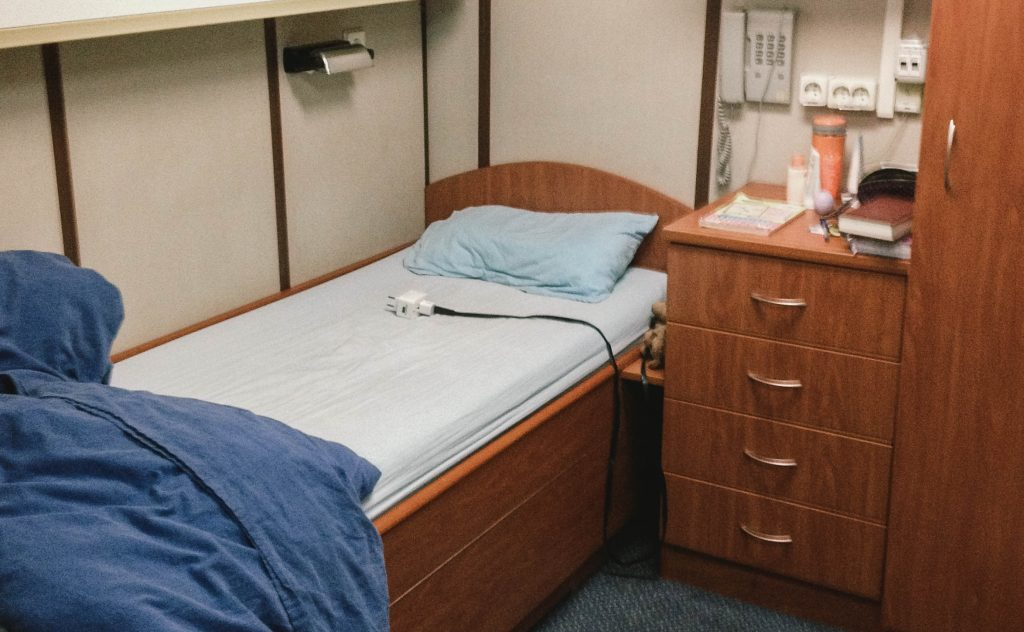 1st night cabin
