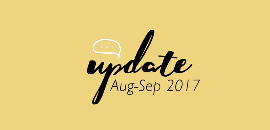 ชูใจอัพเดท Aug-Sep 17