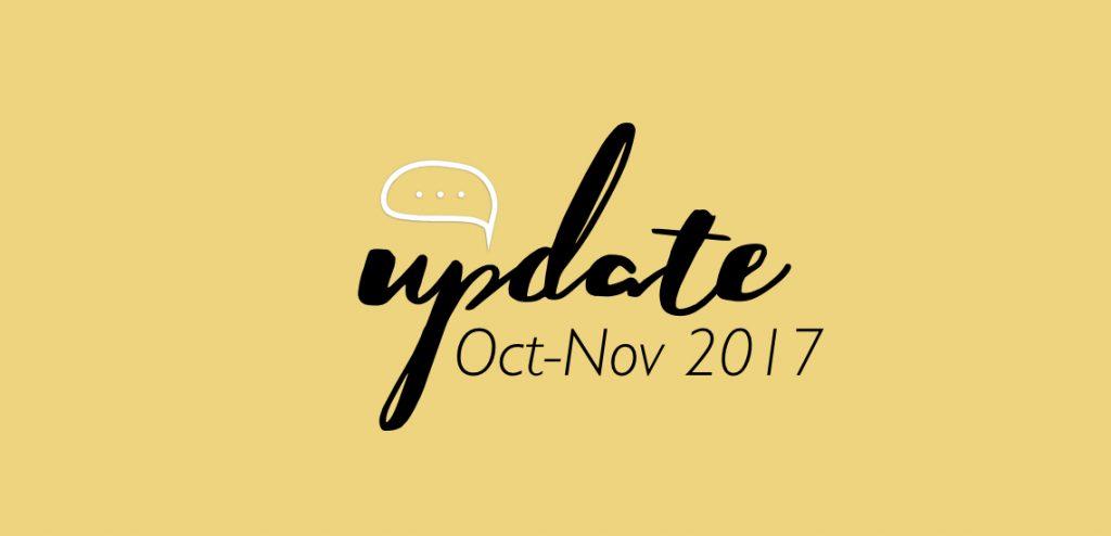 ชูใจอัพเดท Oct-Nov 17