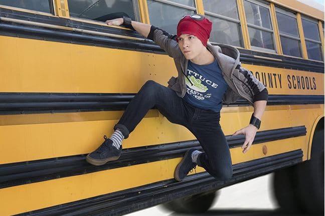 สไปเดอร์แมน รถโรงเรียน