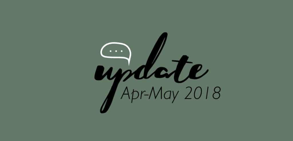 ชูใจอัพเดท เมษา-พฤษภา 2018