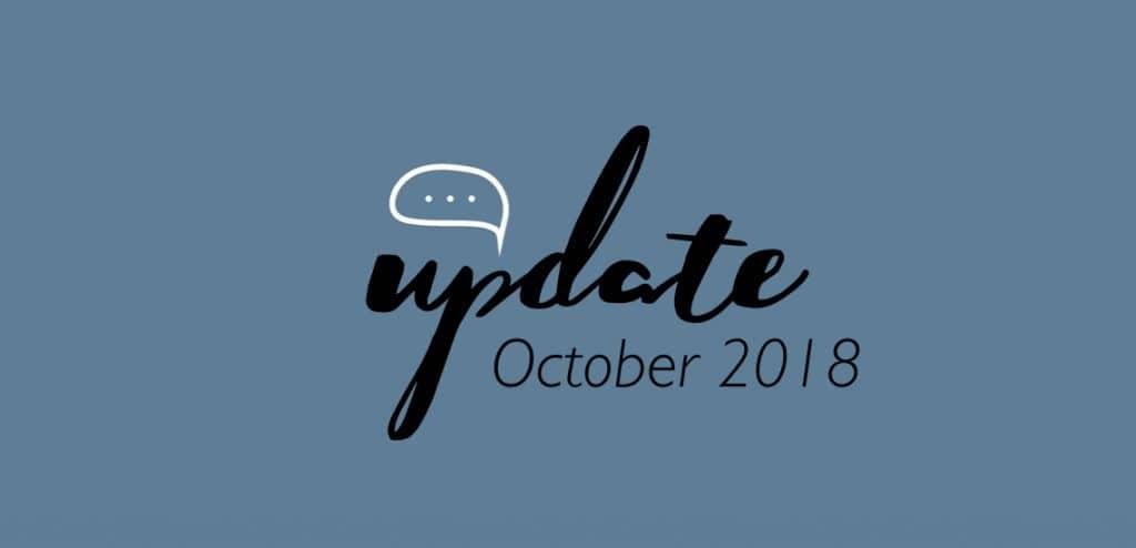 ชูใจอัพเดท ตุลาคม 2018