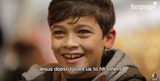 พระเยซูไม่ต้องการให้เราทำร้ายคนอื่น